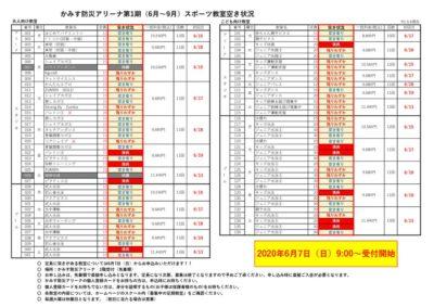(R2.6.6)第1期教室空き状況表のサムネイル